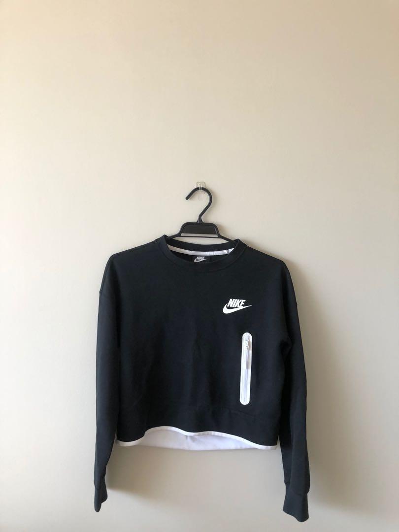Nike cropped jumper