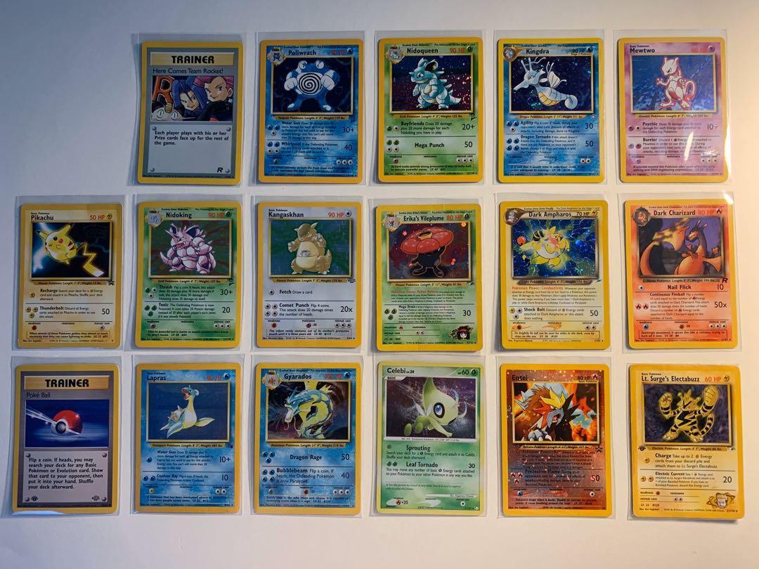 Pokémon Wotc Base Set Holo Collection