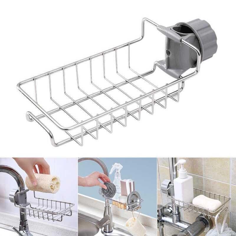 Rak Gantungan Barang Keran Air Peralatan Dapur Sabun