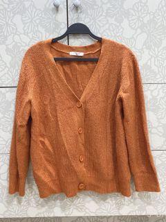 samansa mos2 blue 橘色外套