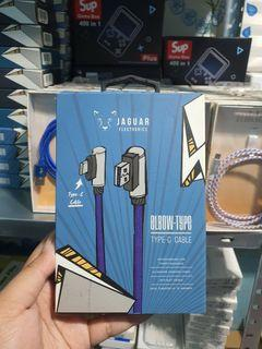 Type C Elbow Gaming Charger JAGUAR branded brand CHARGER FOR GAMERS