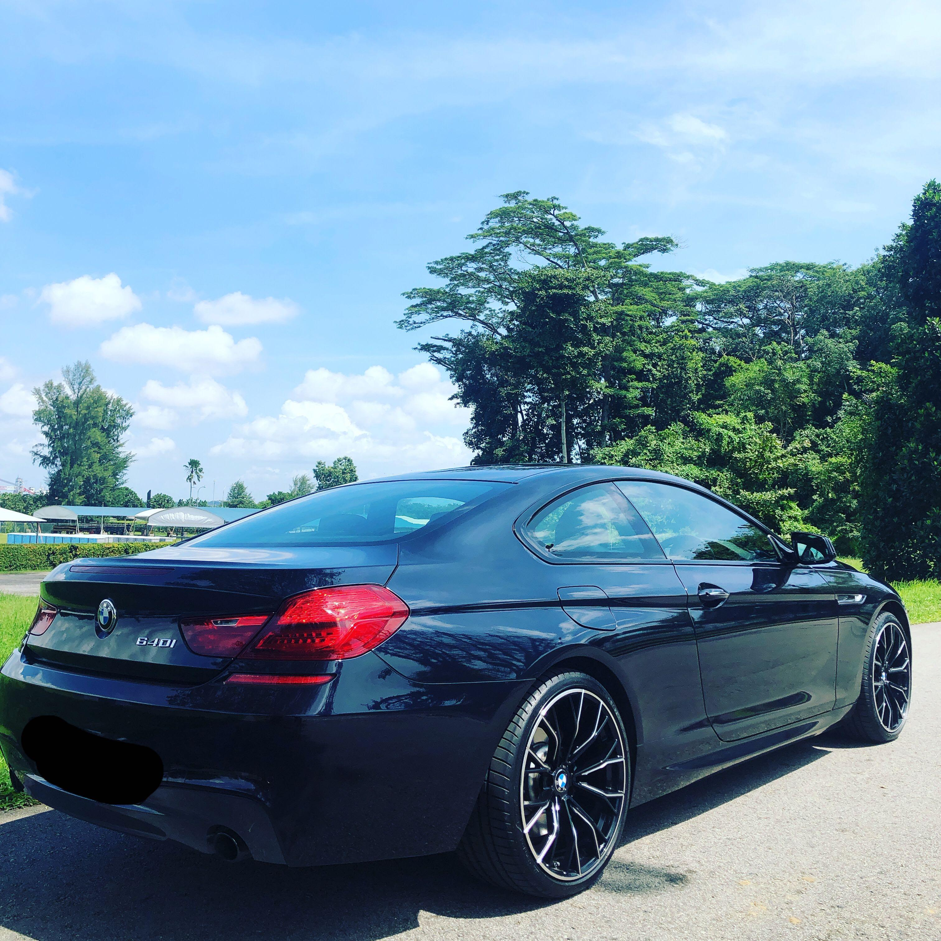 BMW F13 640i M Sport for short term or daily lease