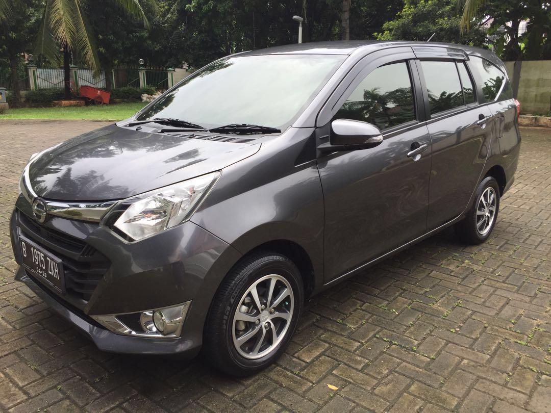 Sigra Daihatsu B401RS-GQZFJ 1.2 R A/T Dark Grey Metallic 2018