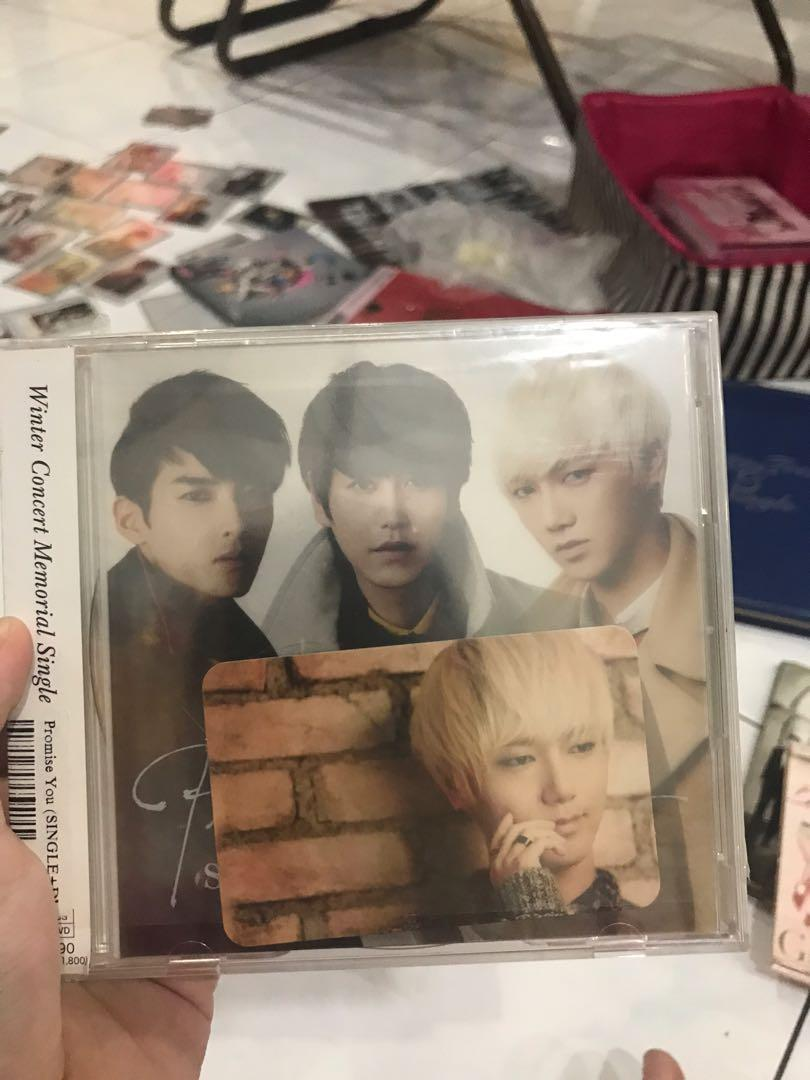 Super Junior K.R.Y Promise You JAPAN Album + Yesung Photocard