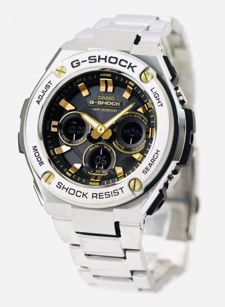 NEW🌟G-STEEL GSHOCK UNISEX DIVER SPORTS WATCH : 100% ORIGINAL AUTHENTIC CASIO G-SHOCK GSTEEL : GST-S310D-1A9DR / GST-S310D-1A9