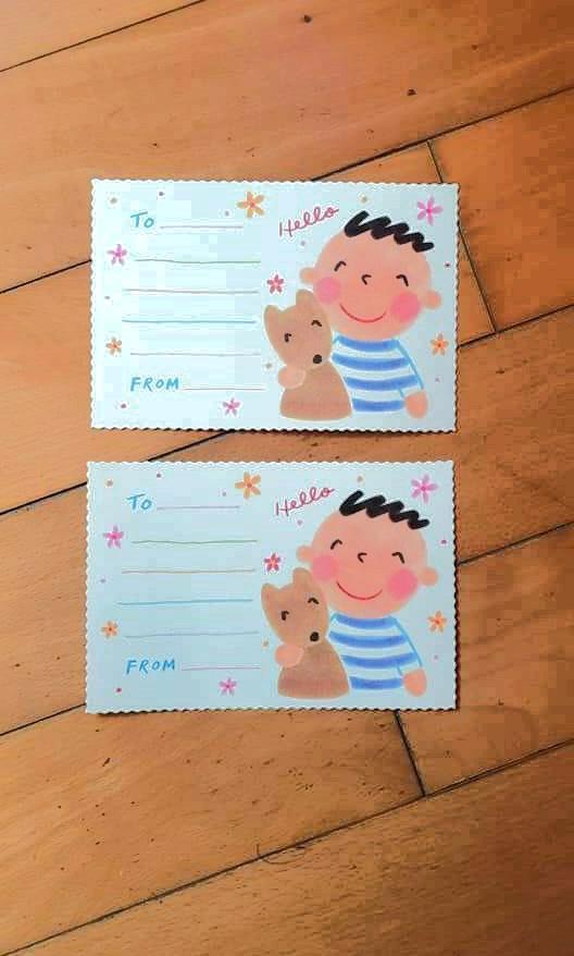 94年絕版Sanrio大口仔明信片minna no tabo postcard