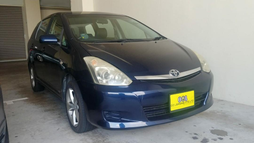 Toyota Wish / Honda Stream for PHV / Personal Rent