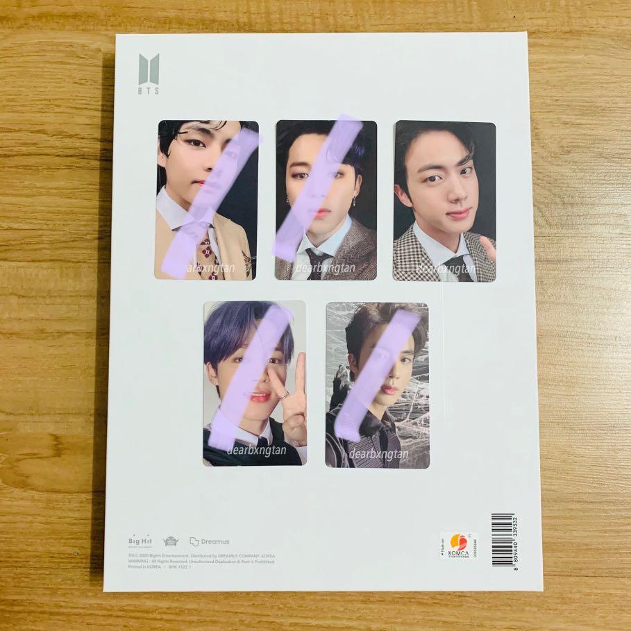 [WTT/WTS] BTS OFFICIAL PHOTOCARD MOTS:7 JIN VER 3