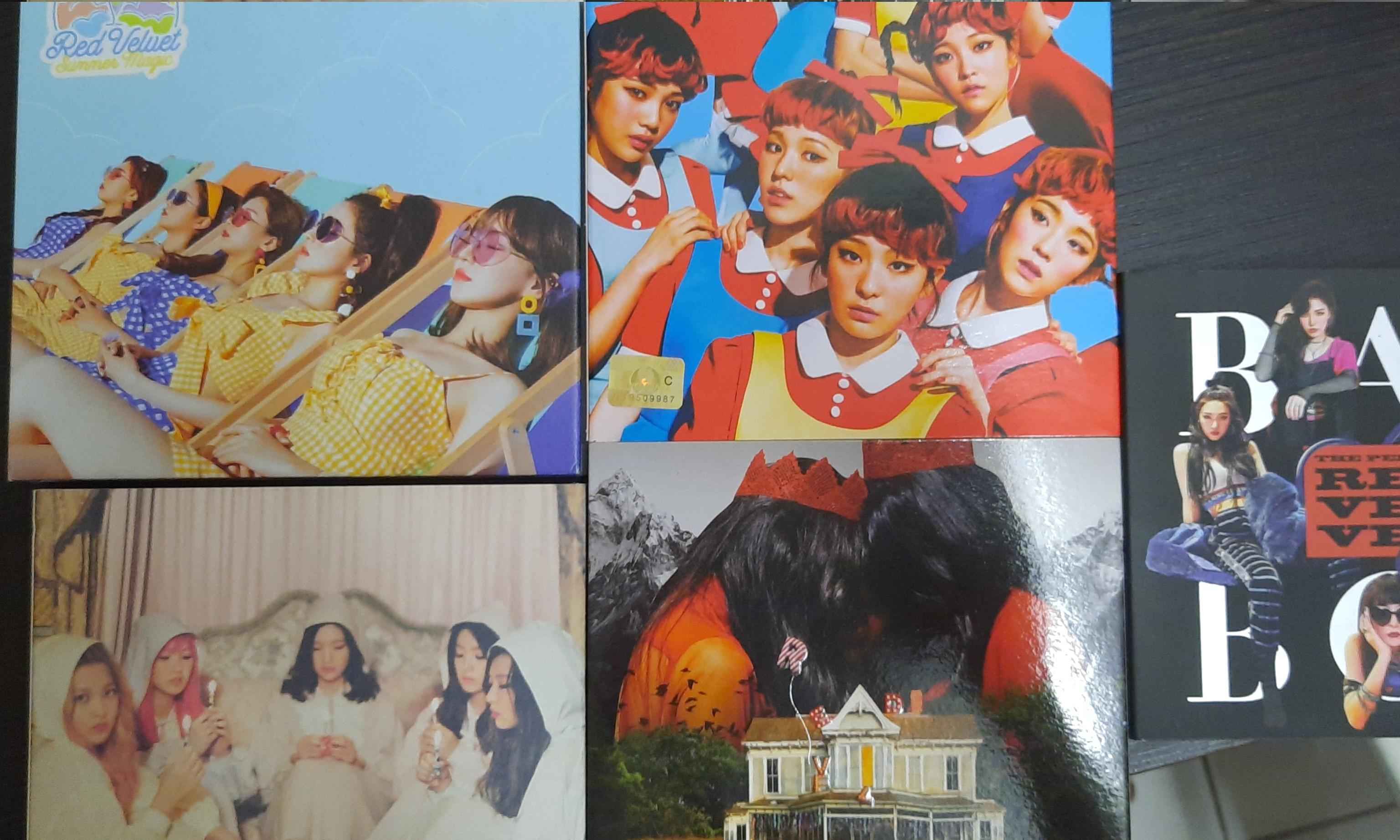 Red Velvet official Album (unseal)