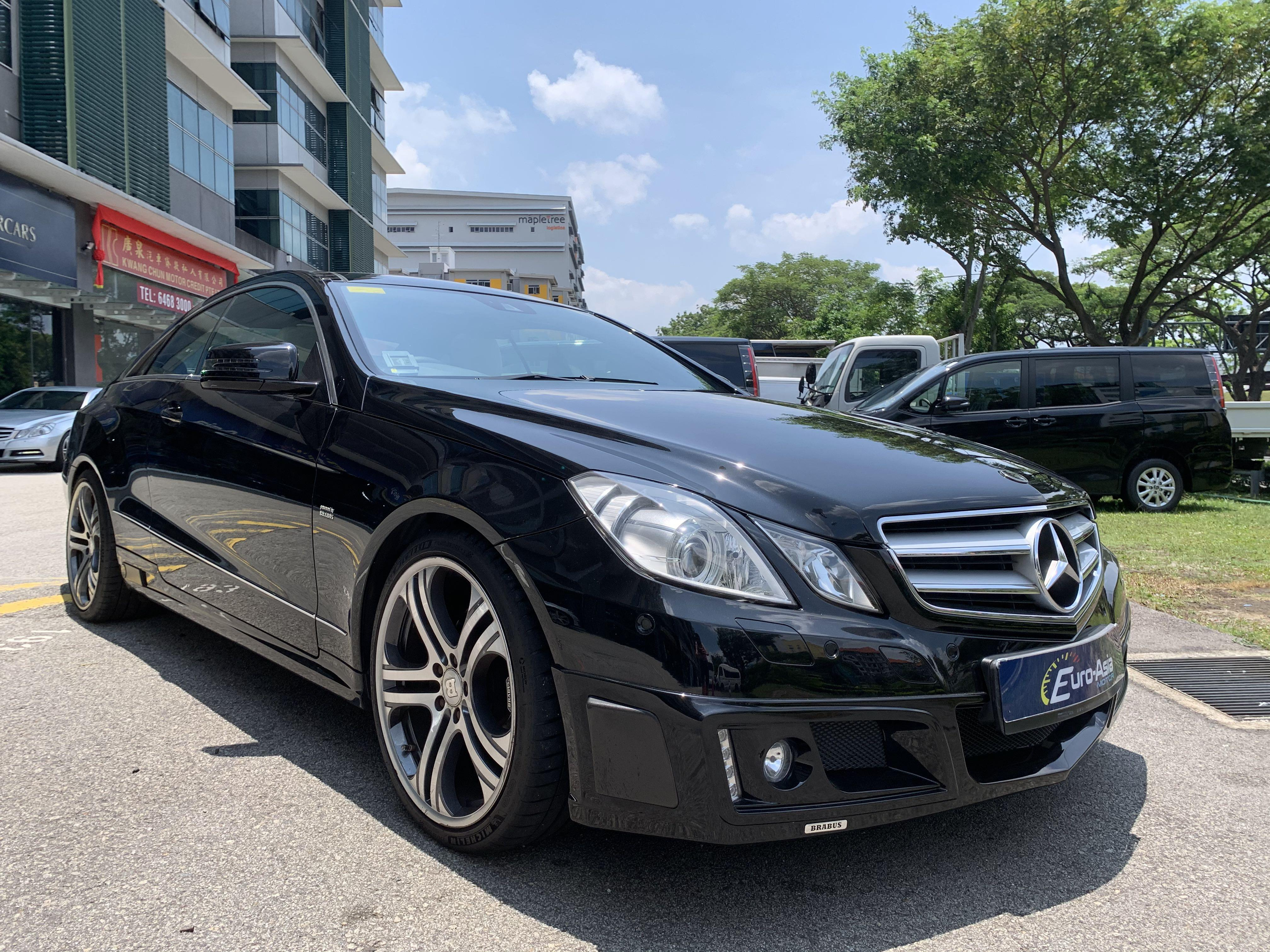 Mercedes-Benz E250 Brabus Coupe Panoramic Roof Auto