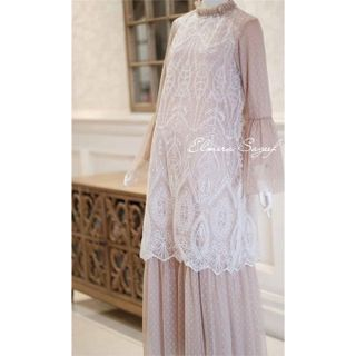 Sewa: Elmira Sageef - Lexa Dress (Nude White)