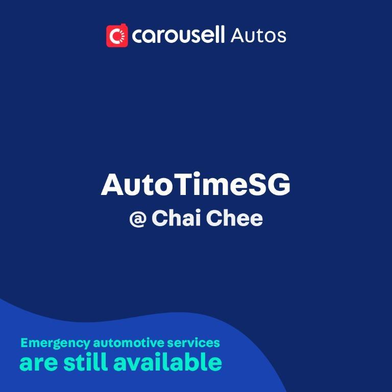 AutoTimeSG - Emergency automotive services still available
