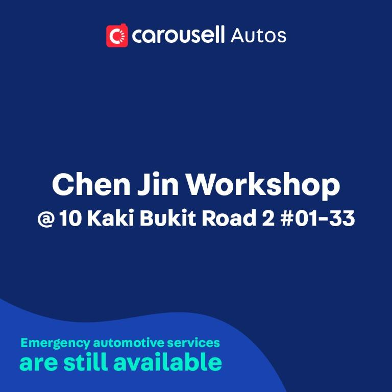 Chen Jin Workshop - Emergency automotive services still available