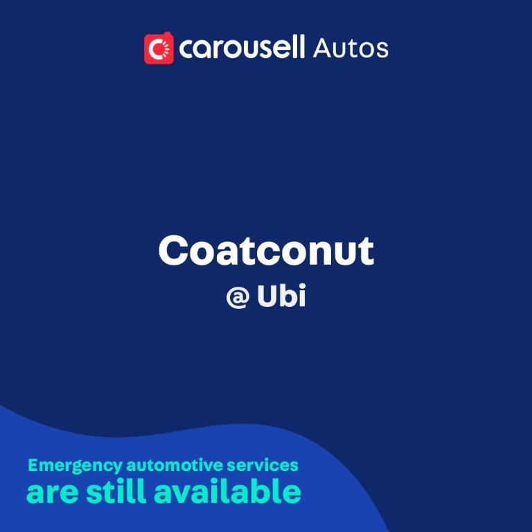 Coatconut - Emergency automotive services still available