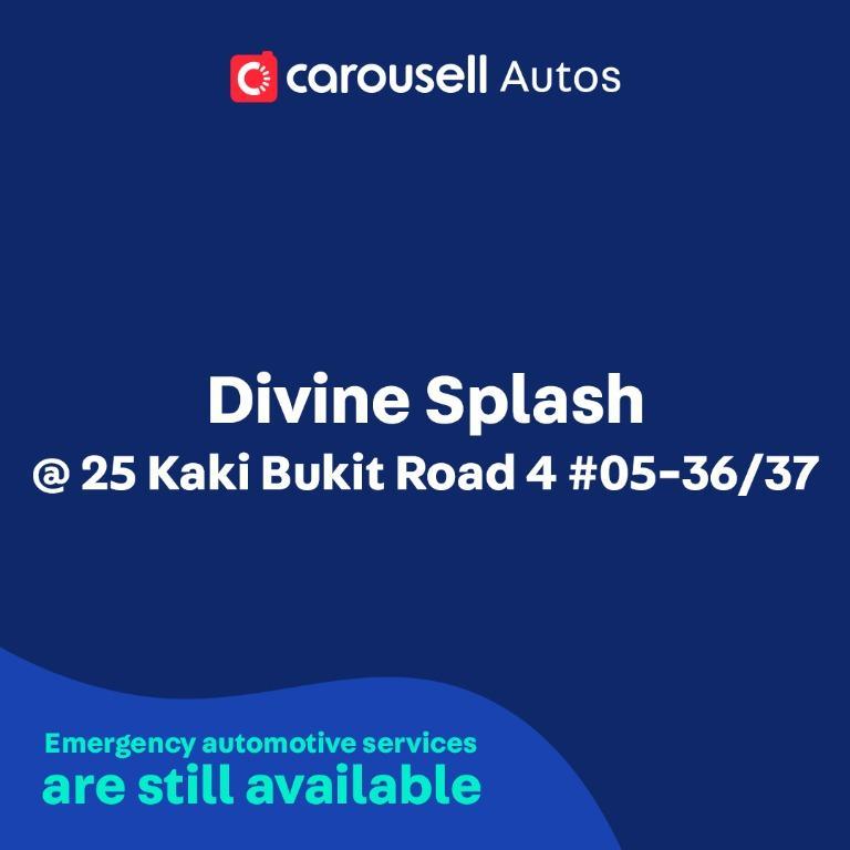 Divine Splash - Emergency automotive services still available