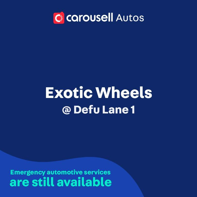 Exotic Wheels - Emergency automotive services still available