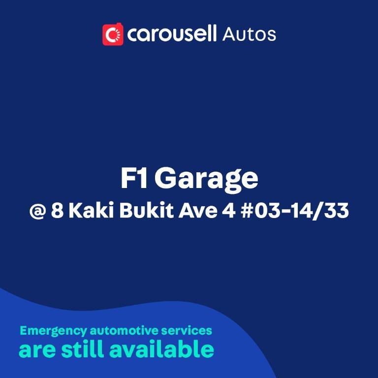 F1 Garage - Emergency automotive services still available
