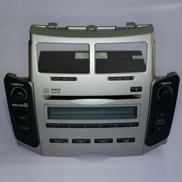 Headunit Tape Single Din OEM/Ori Frame Toyota Yaris 2012