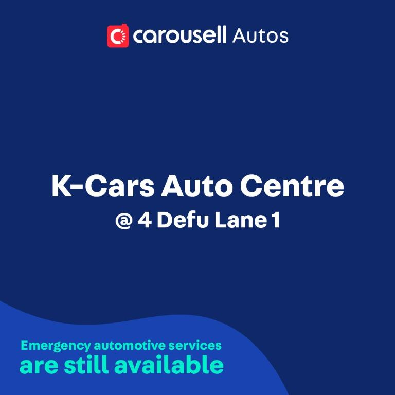 K-Cars Auto Centre - Emergency automotive services still available