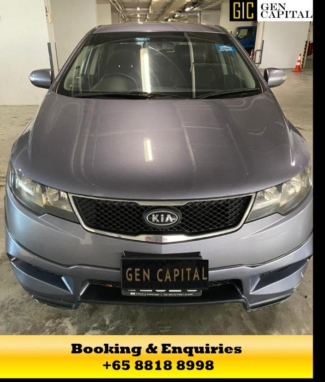 Kia Cerato - 50% OFF CIRCUIT BREAKER PROMO with just $500 deposit driveaway. Contact me now at 8818 8998