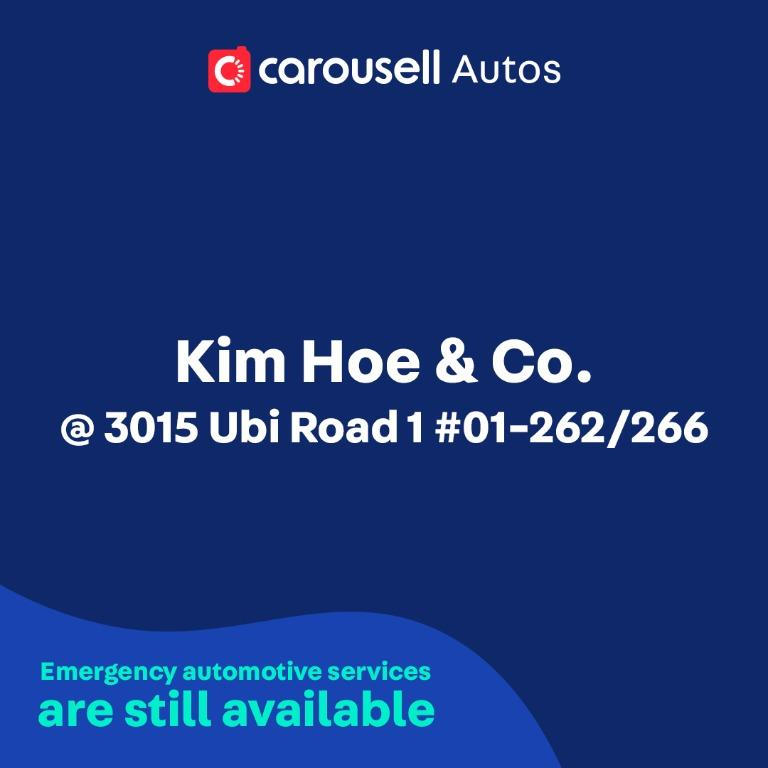 Kim Hoe & Co. - Emergency automotive services still available