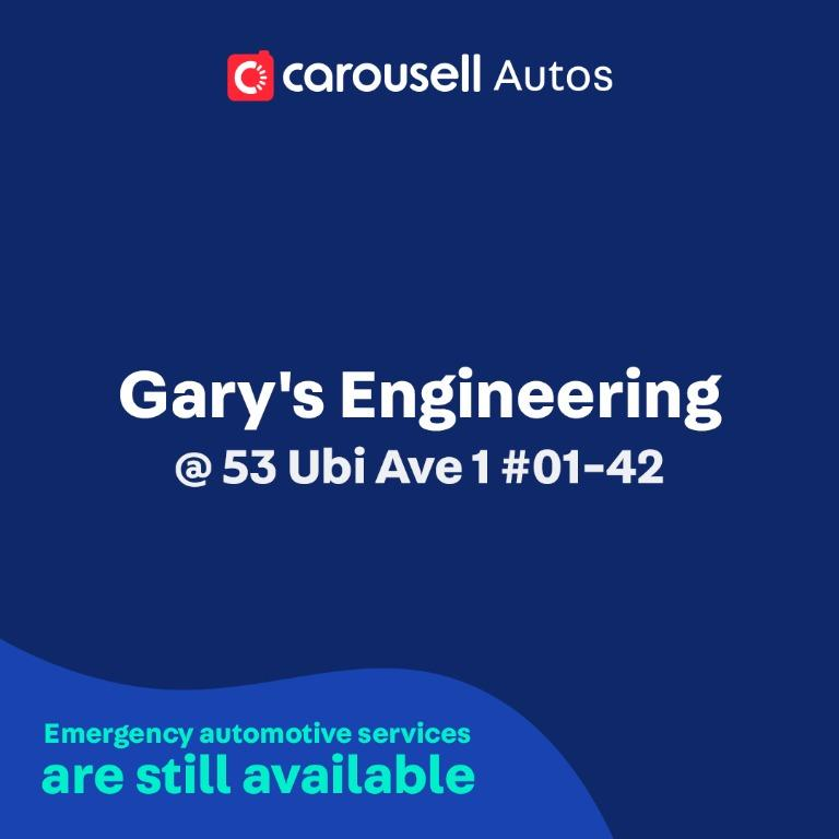 Gary's Engineering - Emergency automotive services still available