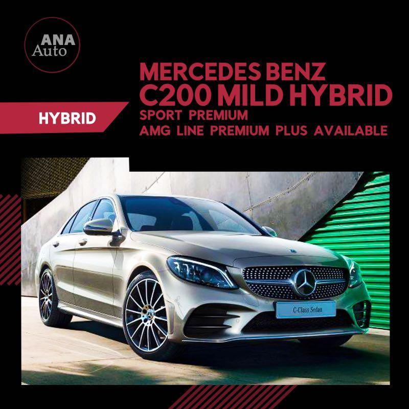 Mercedes Benz C200 Amg line premium Plus 1.5 A Mild Hybrid