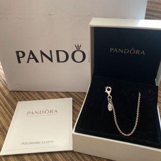 Pandora  潘朵拉 經典環扣項鍊38cm