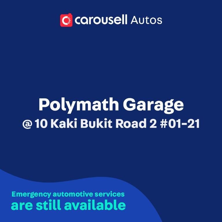 Polymath Garage - Emergency automotive services still available