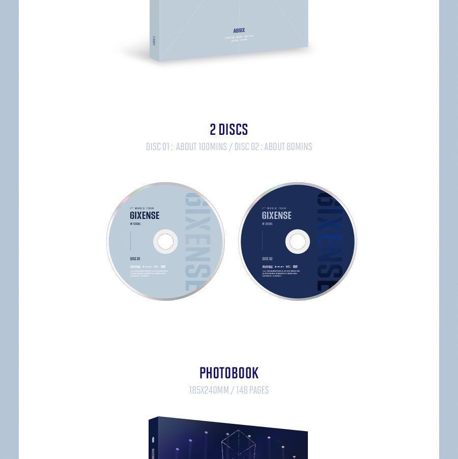 [PREORDER] AB6IX 1ST WORLD TOUR <6IXENSE> IN SEOUL DVD