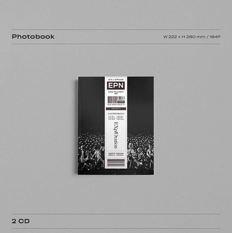 [PREORDER] EXO PLANET #5 EXPLORATION PHOTOBOOK AND LIVE ALBUM