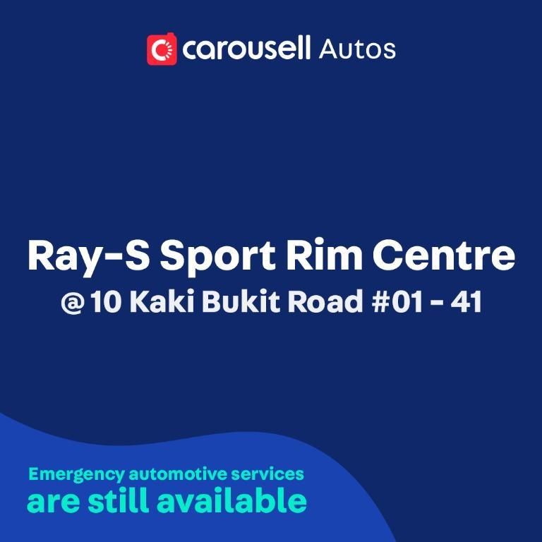 Ray-S Sport Rim Centre - Emergency automotive services still available