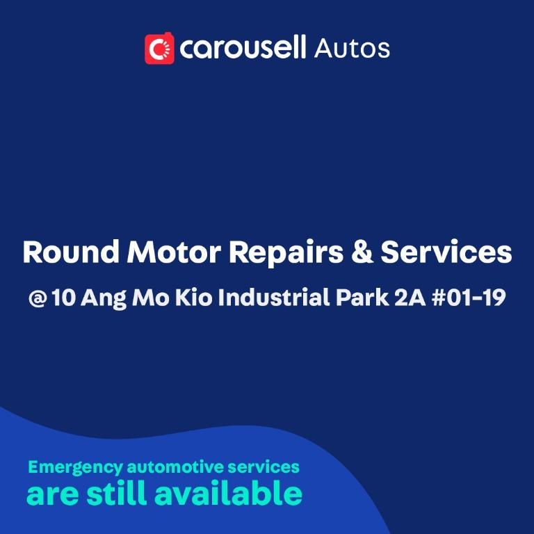 Round Motor Repairs & Services - Emergency automotive services still available