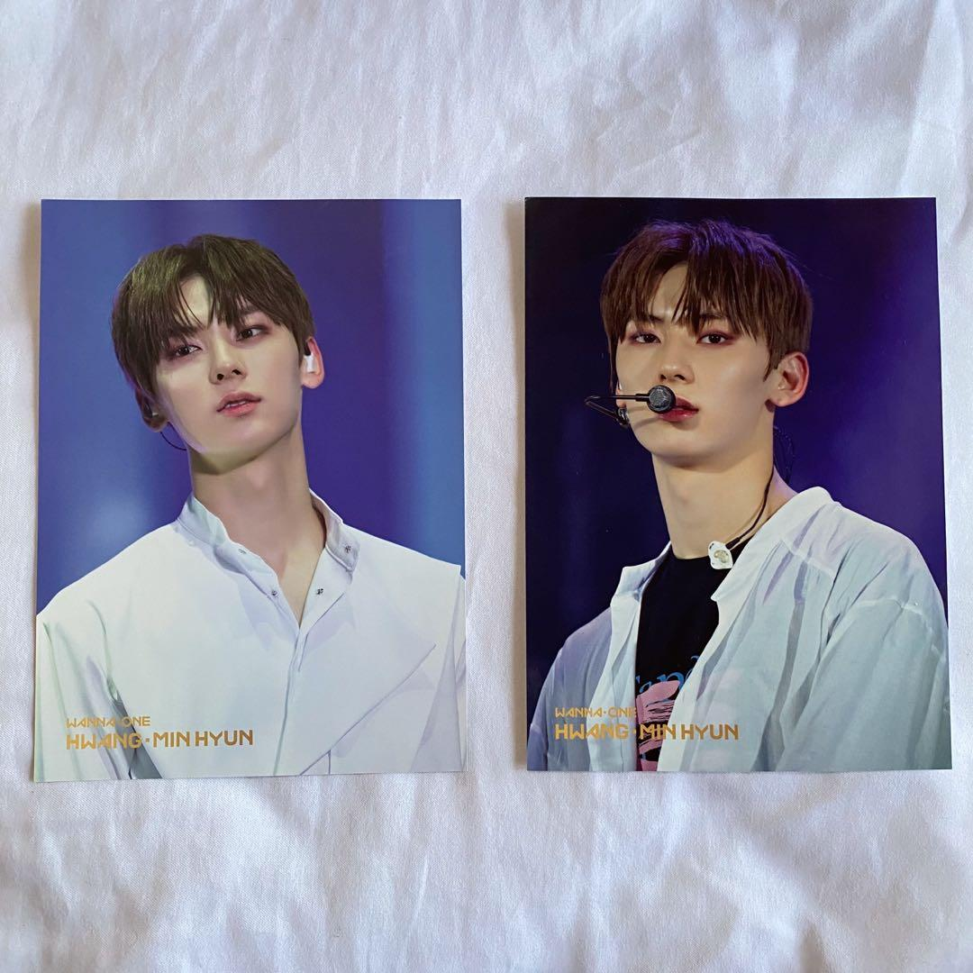 Wanna One Nuest Hwang Minhyun world tour photocard