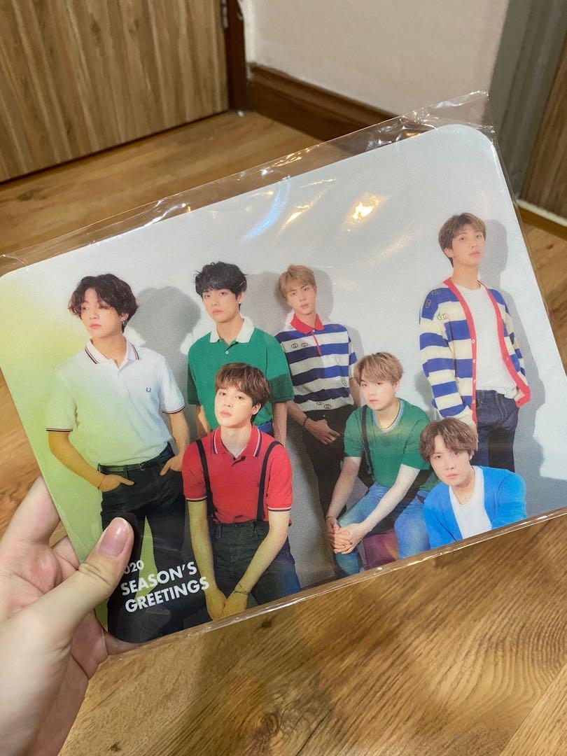 [WTS]BTS 2020 Season Greetings Weply Gift Mouse Pad