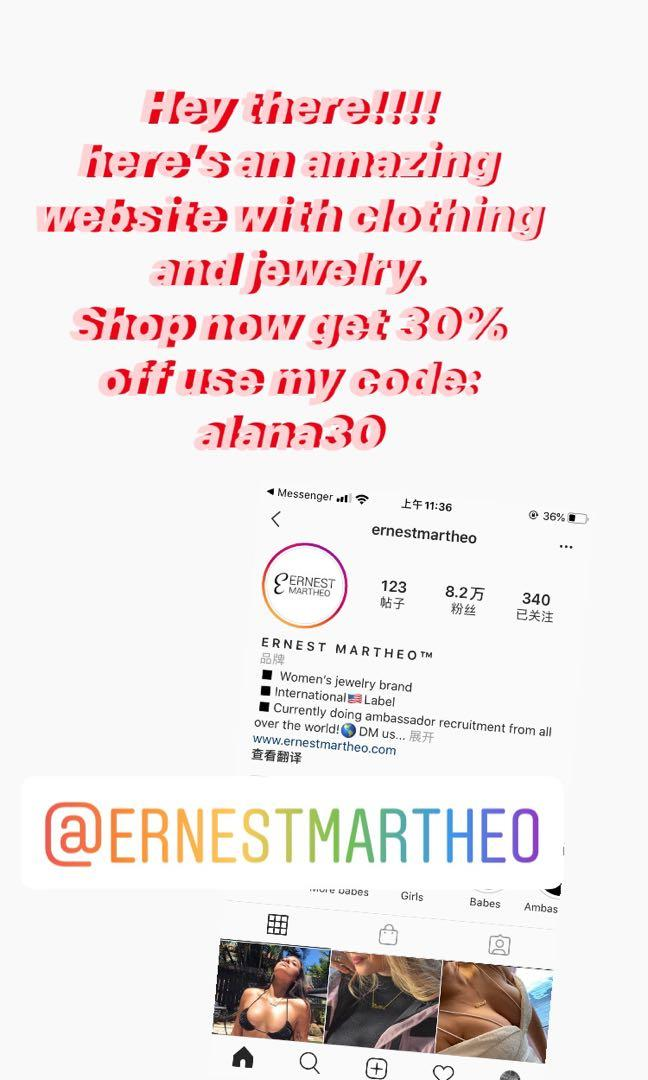 300%off Ernest Jewelry