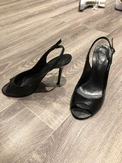Also sling pumps