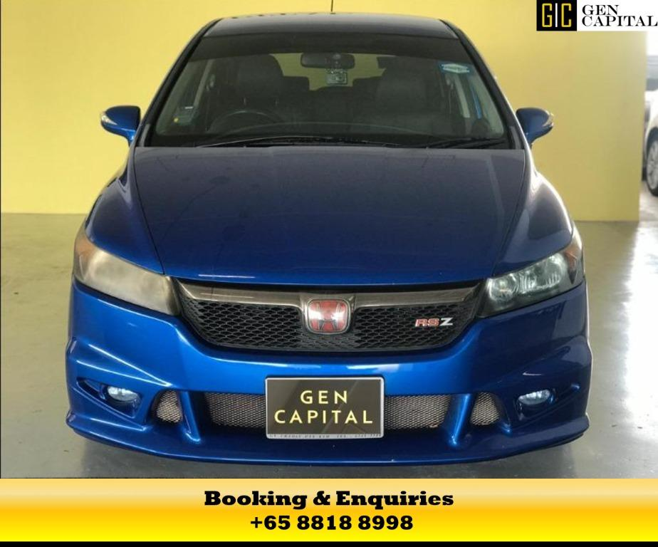 Blue Honda Stream - 50% off Circuit Breaker Promo the best way to commute during the covid19 outbreak, chauffeur your family in a safe and comfortable way. Contact us at 8818 8998 today!