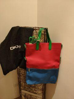DKNY 撞色包