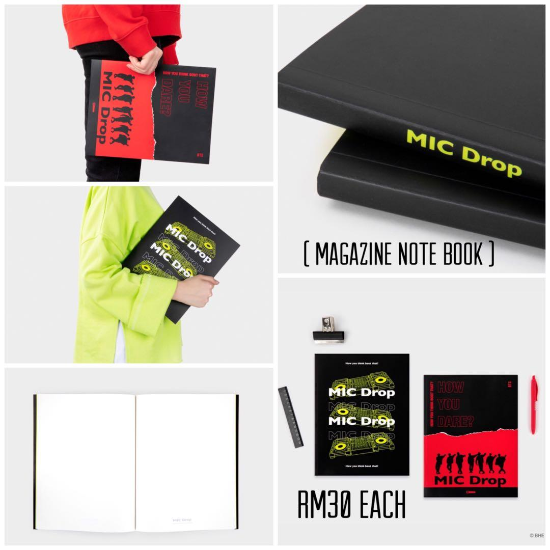 [GROUP ORDER] MIC DROP BTS NEW COLLECTION ( Official Goods )