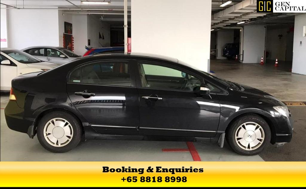 Honda Civic Hybrid - 50% off Circuit Breaker Promo the best way to commute during the covid19 outbreak, chauffeur your family in a safe and comfortable way. Contact us at 8818 8998 today!