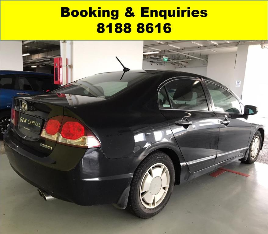 Honda Civic Hybrid SOCIAL DISTANCING? 50% OFF CIRCUIT BREAKER to help PHV drivers/Self-employed in coping with the Covid-19 situation. Travel with a peace of mind with just $500 deposit driveaway. Whatsapp 8188 8616 now to enjoy special rates!