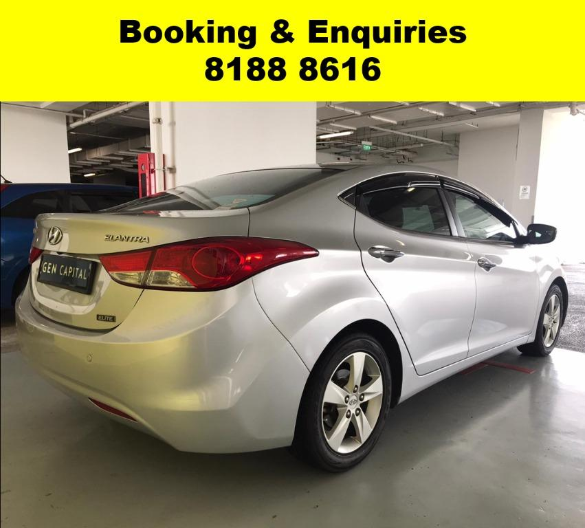 Hyundai Elantra SOCIAL DISTANCING? 50% OFF CIRCUIT BREAKER to help PHV drivers/Self-employed in coping with the Covid-19 situation. Travel with a peace of mind with just $500 deposit driveaway. Whatsapp 8188 8616 now to enjoy special rates!!