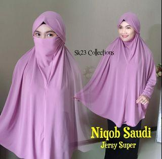 Kerudung Niqab Saudi