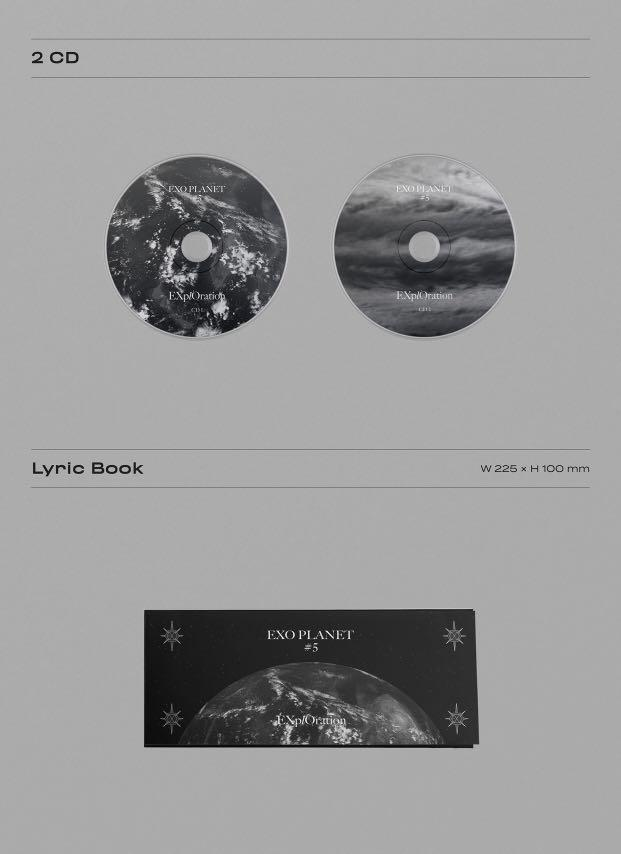 [PREORDER] EXO , 5th solo concert photobook and live album package 'EXO PLANET