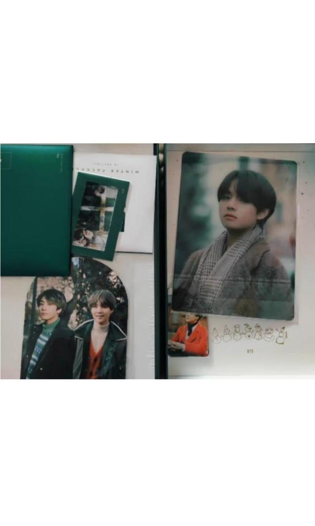 [READY STOCK]BTS 2020 WINTER PACKAGE FULL SET UNSEALED TAEHYUNG V MINI PHOTOBOOK