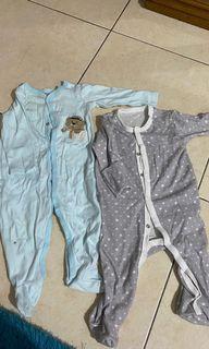 Sleep suit 9m dan 6m
