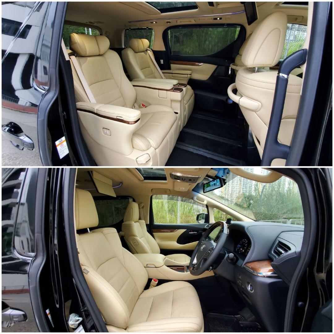 Toyota Vellfire Executive Lounge Auto