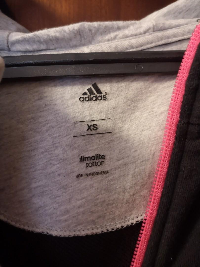 Adidas hooded vest