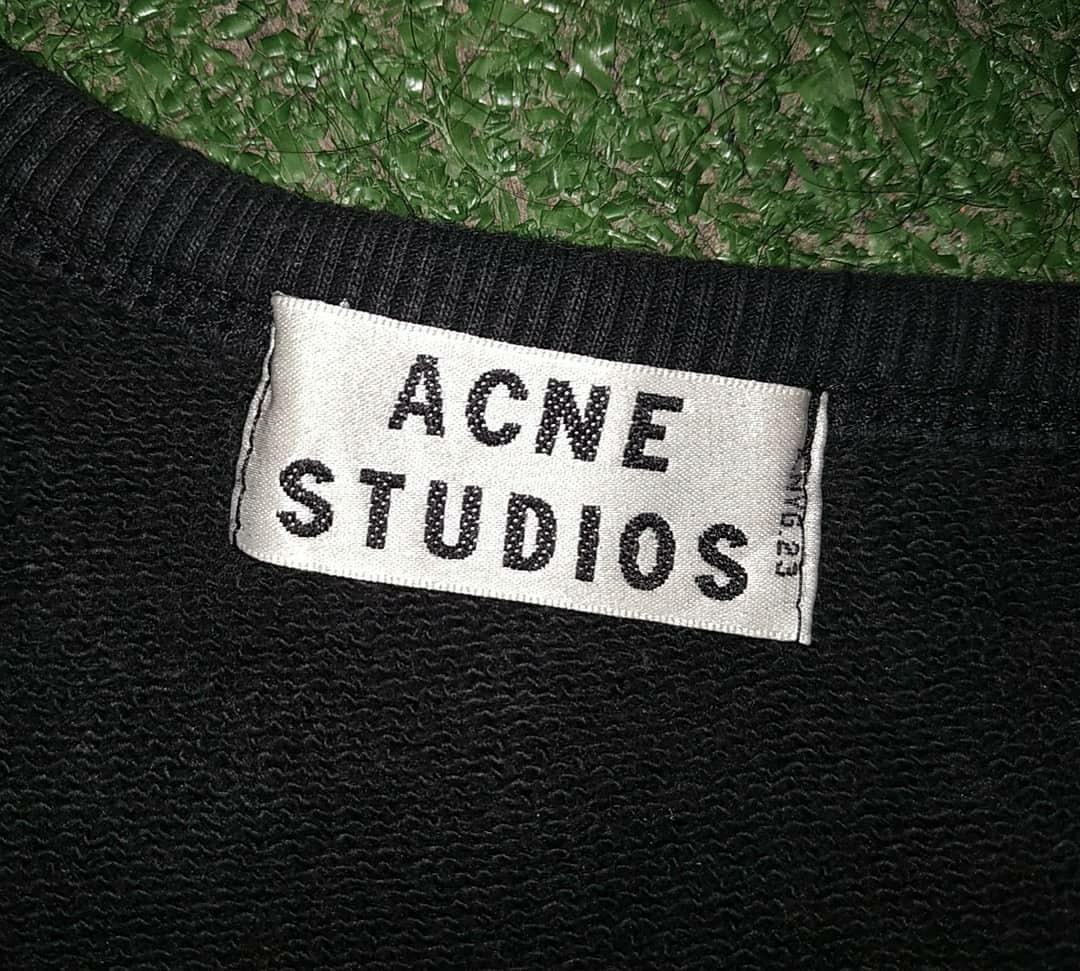 Authentic Acne Studios John Ss13 Original Sweater Crewneck no Zara Givenchy Kenzo Zara Supreme Bape